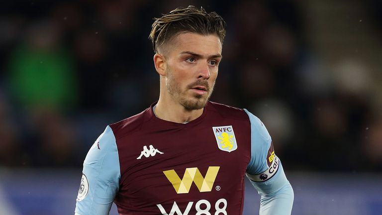 Aston Villa captain Jack Grealish