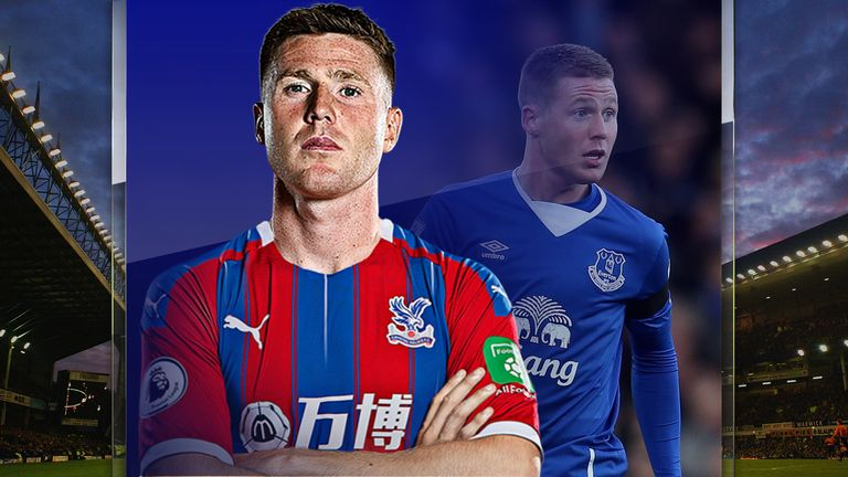 James McCarthy joined Crystal Palace from Everton last summer