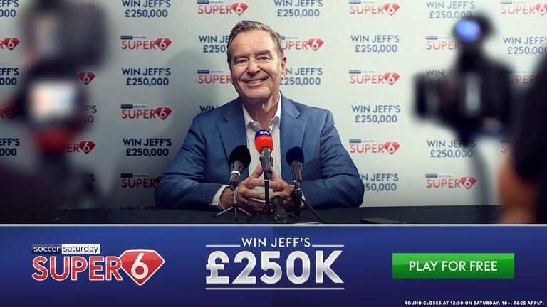 The £250,000 jackpot has been won for the sixth time this season