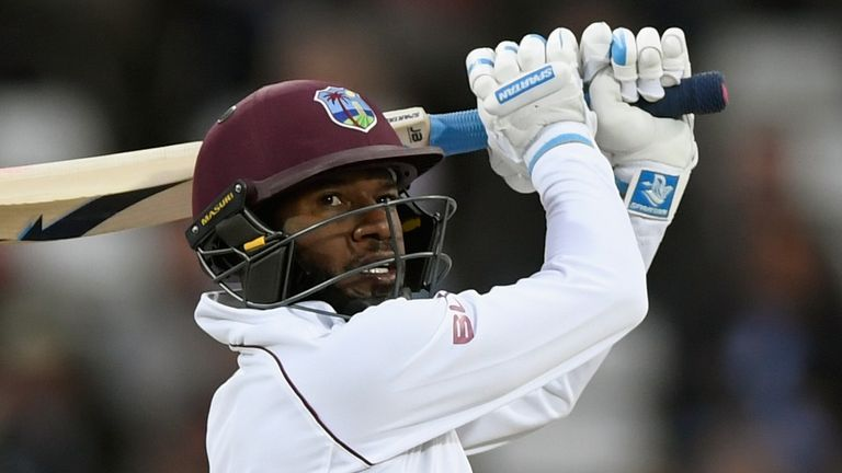 Jermaine Blackwood averages 55.33 in his six Tests against England