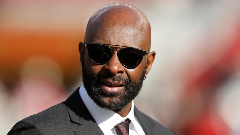 NFL legend Jerry Rice opened the Academy's new gym at Barnet and Southgate College