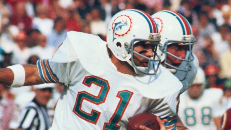 Kiick spent the first seven of his nine NFL seasons in Miami