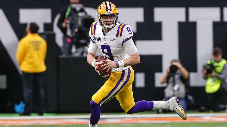 No 1 overall NFL Draft pick Joe Burrow is looking to rejuvenate the Bengals