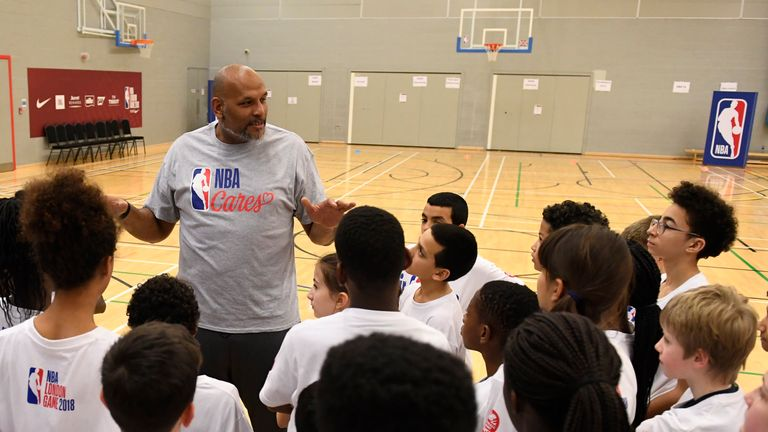 John Amaechi received an OBE in 2011 for services to sport and the voluntary sector