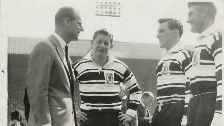 Johnny Whiteley MBE and rugby league historian Tony Collins discussed Whiteley's phenomenal career