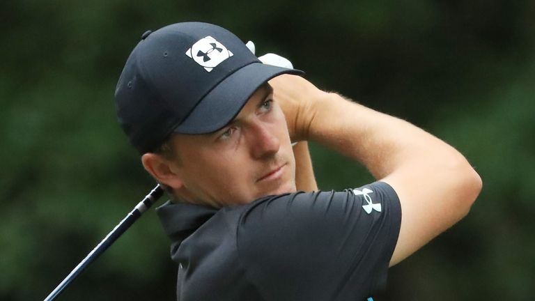 Spieth was the 2017 winner at the Travelers Championship