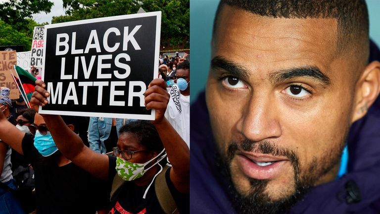 Kevin-Prince Boateng has launched a powerful anti-racism message urging footballers to take a stand