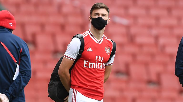 Kieran Tierney is available for Arsenal again
