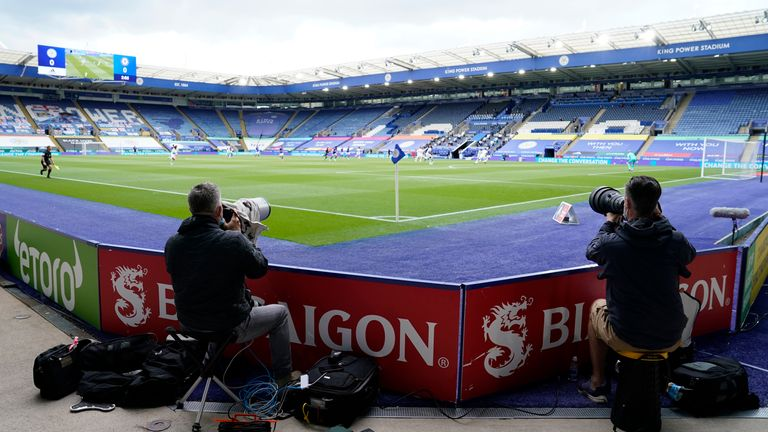 Leicester's King Power Stadium is in the heart of the city