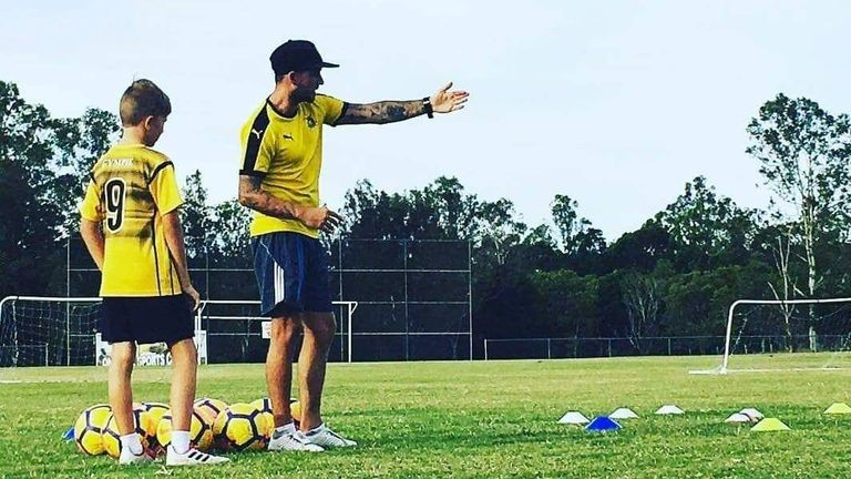 Nix is now coaching in Australia and helping the next generation of talent