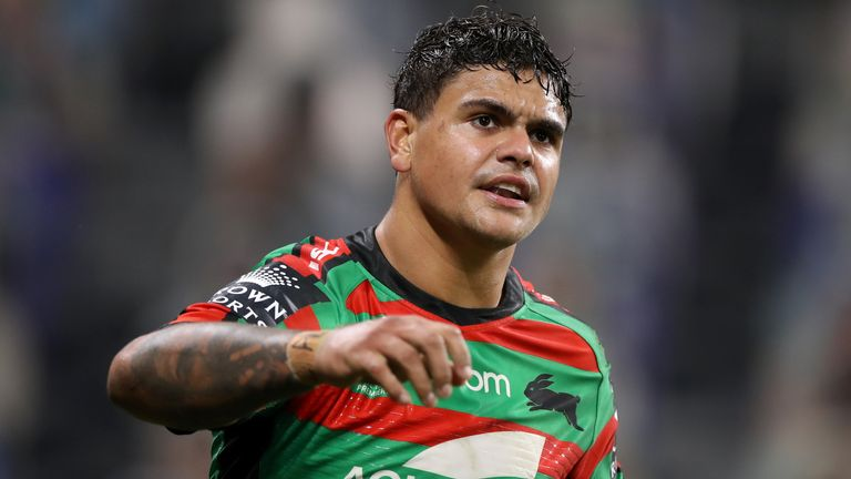 Latrell Mitchell was impressive at full-back for South Sydney