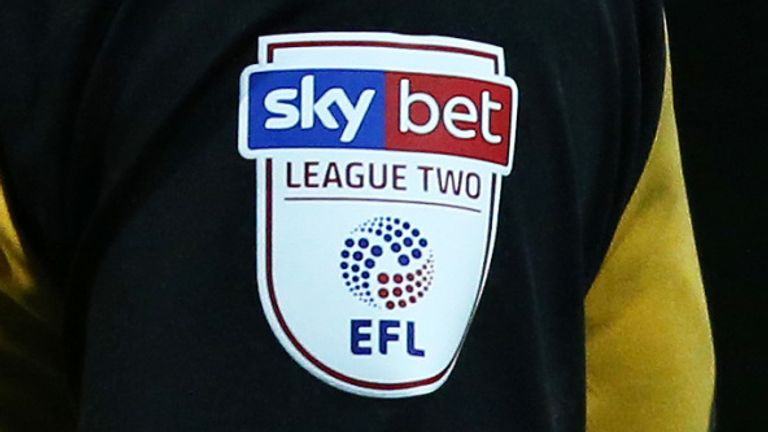 When are the Sky Bet League Two play-offs?