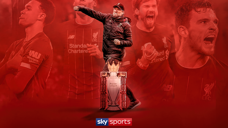 Liverpool have been crowned Premier League champions for the very first time
