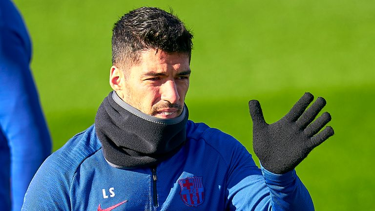 Luis Suarez has been cleared to play when La Liga season resumes