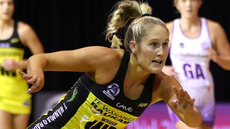 The defending champions ground it out on court in Auckland