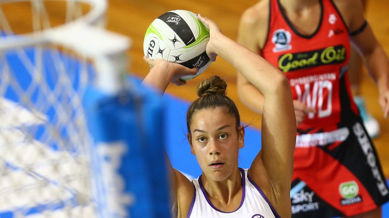 The ANZ Premiership shooter can't wait for the competition to restart on Friday