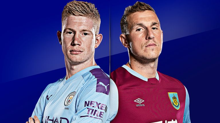 Man City vs Burnley is live on Sky Sports
