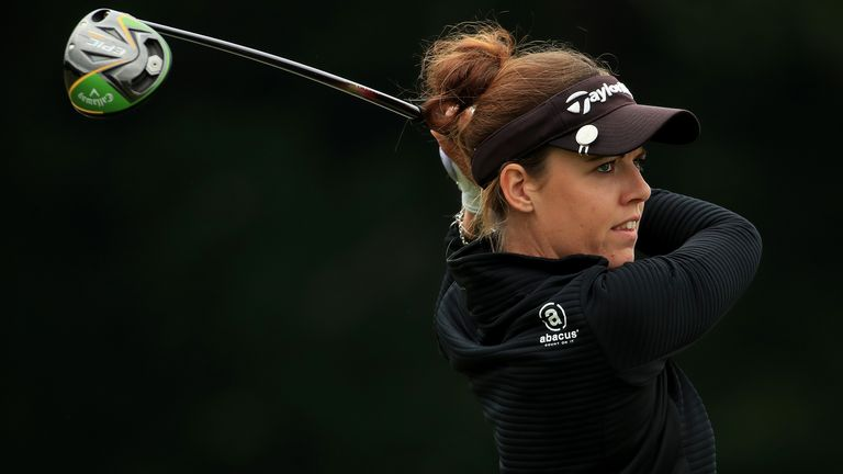 Meghan MacLaren has regularly spoken out about inequality in golf