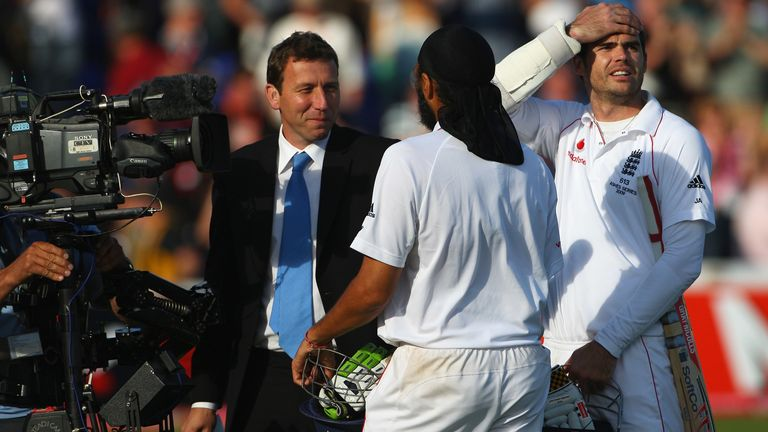 Michael Atherton interviews Monty Panesar and James Anderson after England's great escape in Cardiff
