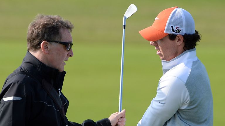 Rory McIlroy has worked with Michael Bannon throughout his career