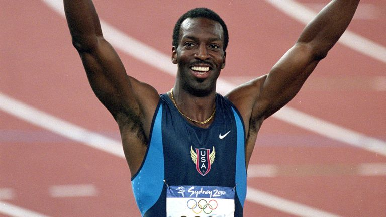 Johnson became the first man to win World Championship and Olympic golds in the 200m and 400m