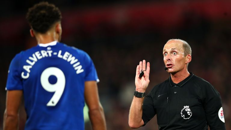 Mike Dean will referee the Merseyside derby for the second time this season