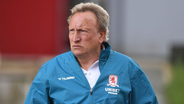 Neil Warnock is keen to remain as Middlesbrough manager