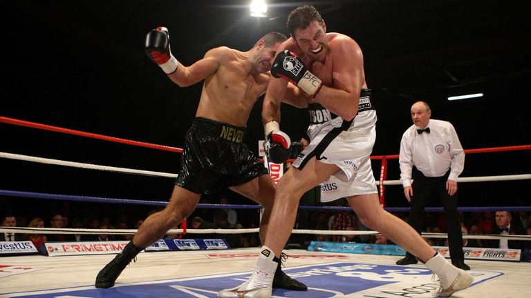 Pajkic was the first man to knock down Fury
