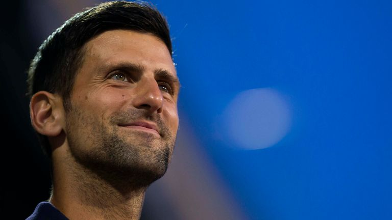 Novak Djokovic hopes strict health protocols will ease in time for the US Open