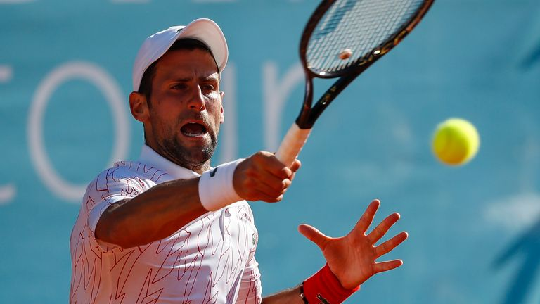 Djokovic has been urged to lead by example by Lewis