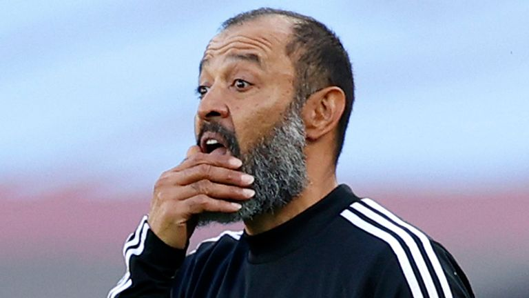 Nuno Espirito Santo says Wolves are not thinking about the Champions League