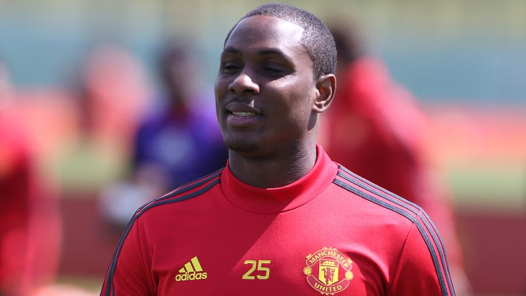 Odion Ighalo extended his Manchester United loan deal until January 2021