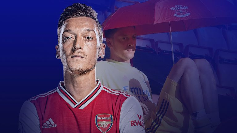 What is going on with Mesut Ozil at Arsenal?