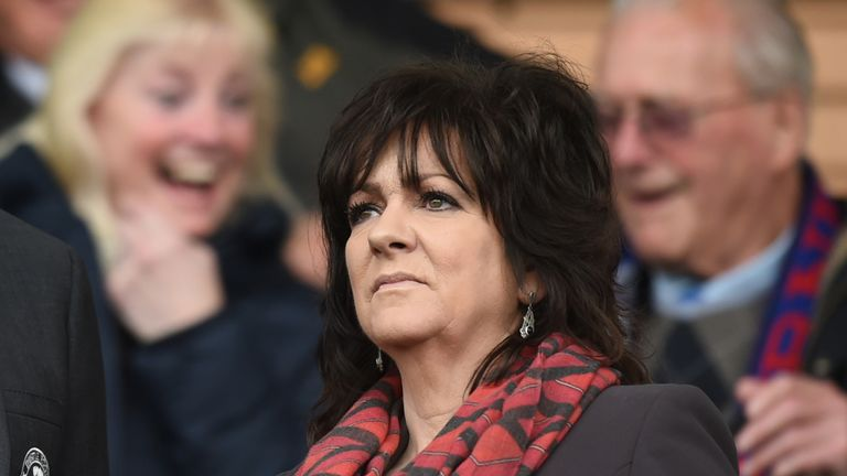 Partick Thistle chairman Jacqui Low says the club has accepted an 'extremely generous offer of unexpected help'