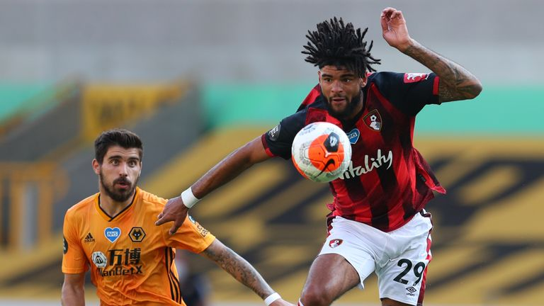 Bournemouth midfielder Philip Billing should be available after shaking off a dead leg