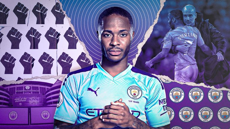 Raheem Sterling is among those to have spoken about how the anti-racism movement can change football and society