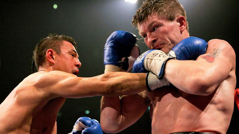 Hatton pounded Kostya Tszyu to a halt in the 11th round