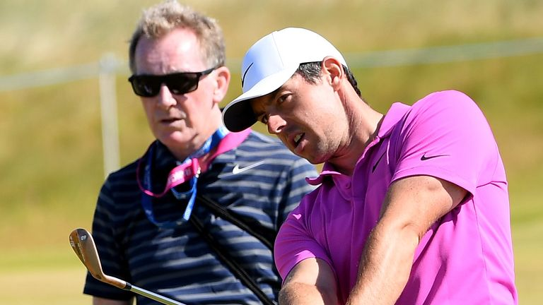 Michael Bannon, Rory McIlroy's coach, has launched a new series on GOLFPASS