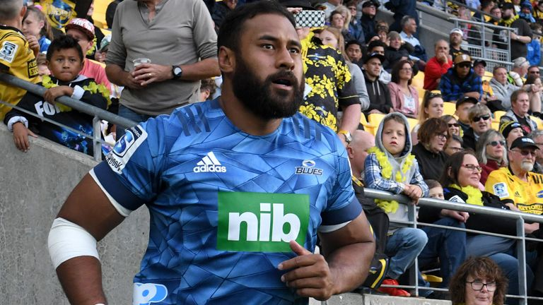 Patrick Tuipulotu leads from the front for the Blues