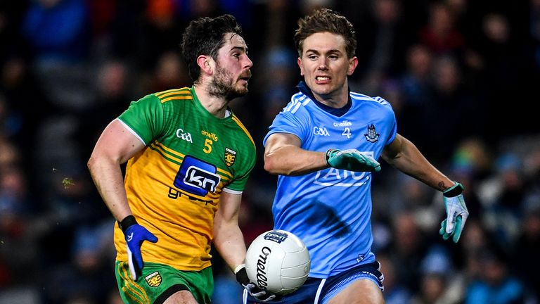 The versatile Kilcar man has won All-Stars in both the backs and forwards