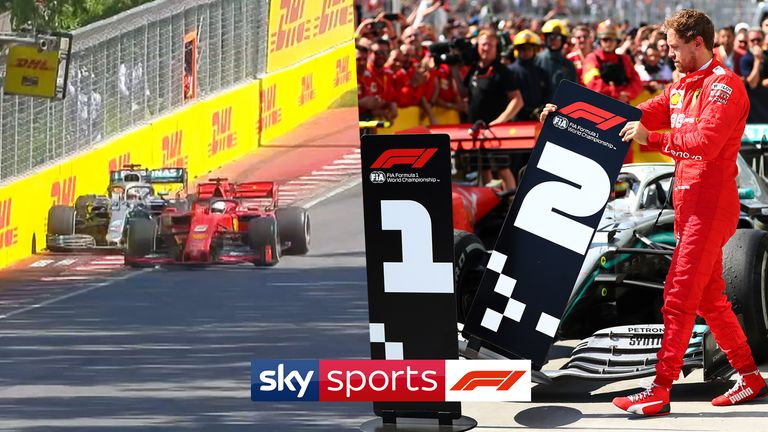 All the angles. All the analysis. Relive the astonishing events of the 2019 Canadian GP and all the fallout from Sebastian Vettel's race-losing penalty for a near-miss with Lewis Hamilton
