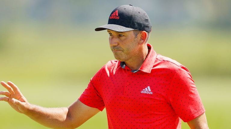 Sergio Garcia is among the others in action at the Silverado Resort this week