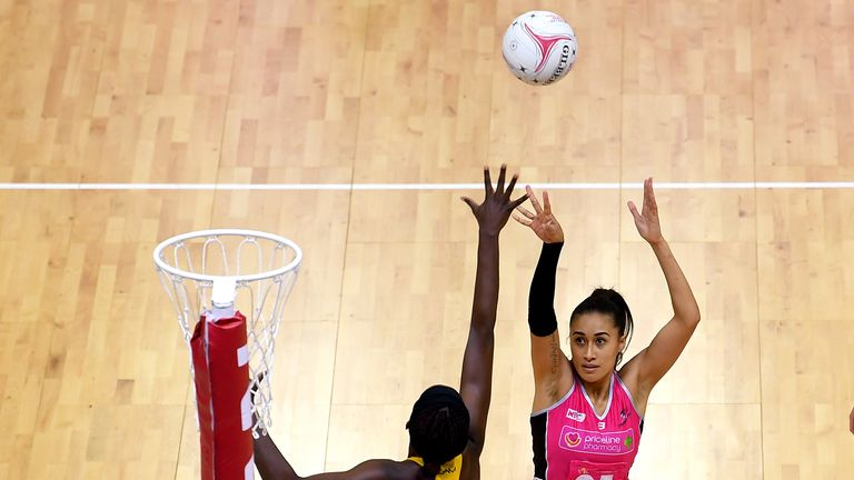 The recently retired netballer was a world-class shooter from distance