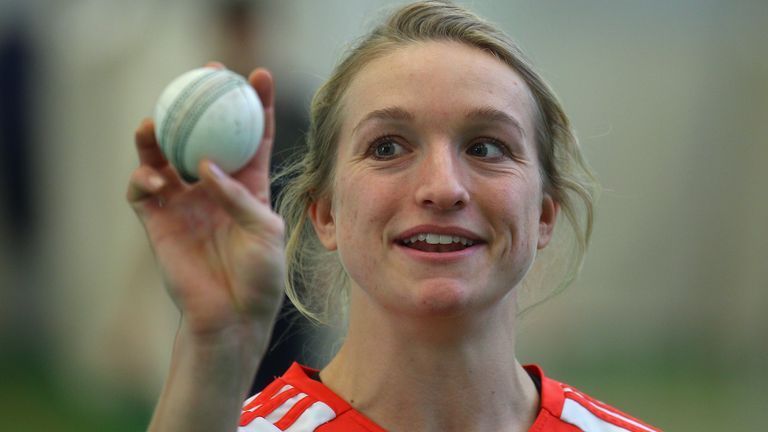 Susie Rowe's sporting skills are not limited to the cricket field