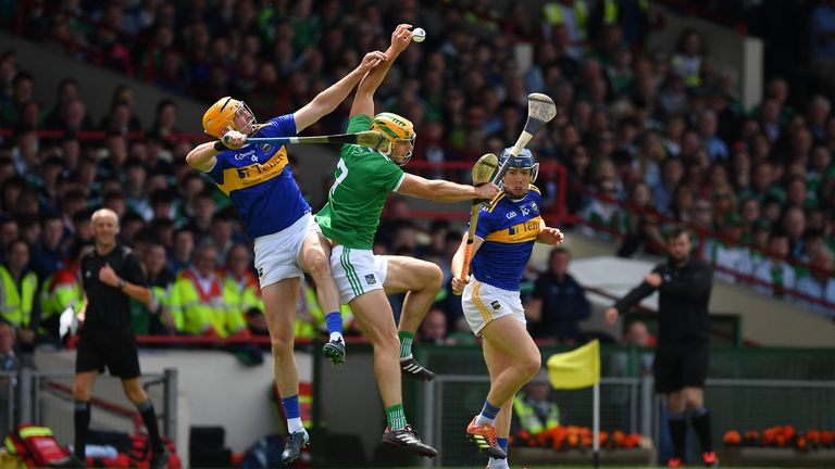 Limerick beat Tipperary in last year's Munster decider