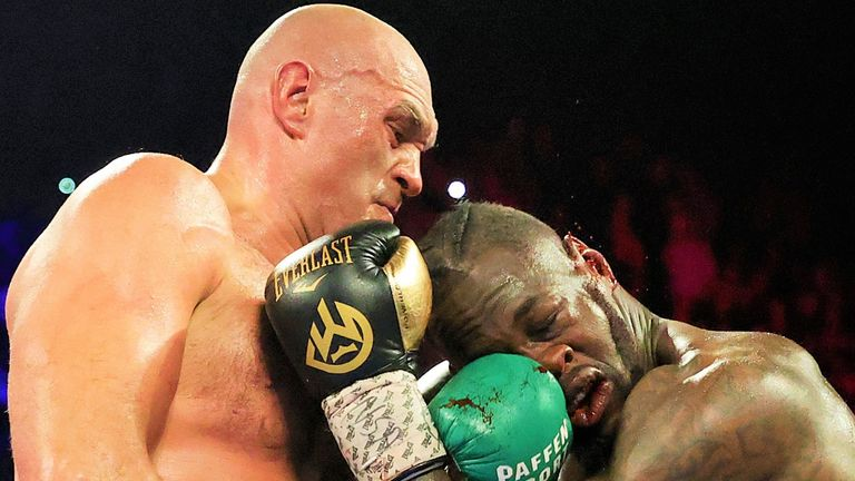 Fury is currently locked in a dispute with Deontay Wilder about a third fight
