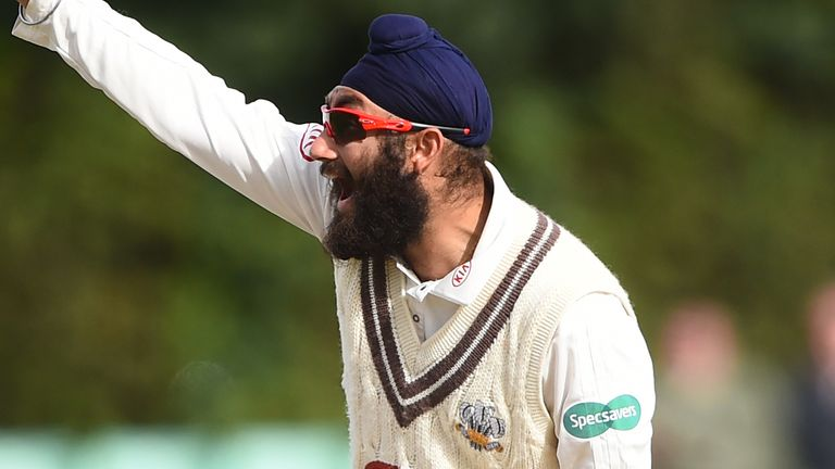 Virdi could become the third Sikh to play for England