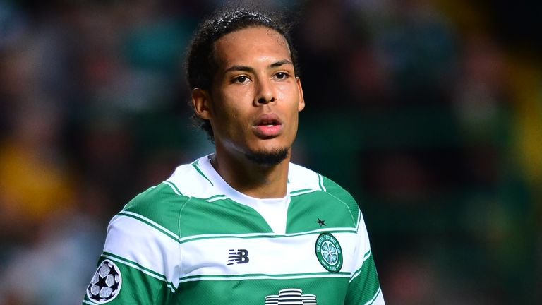 Arsenal were tracking Virgil Van Dijk at Celtic prior to his switch to Southampton in 2015
