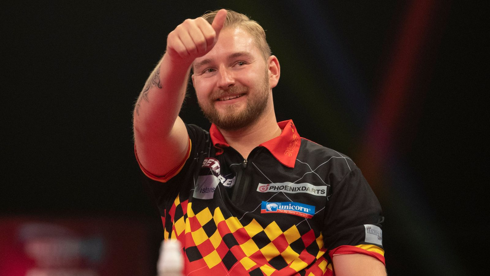 Snakebite, spiders and pizza: How Dimitri Van den Bergh won the World Matchplay