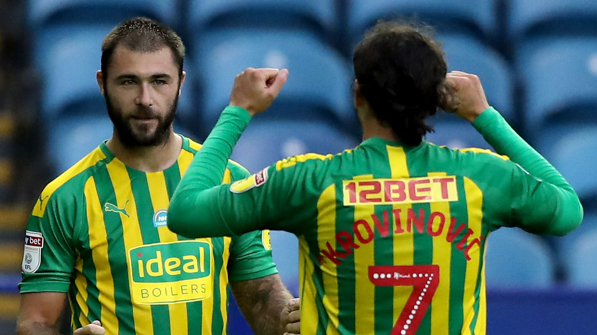 Championship LIVE! WBA double lead at Sheff Wed